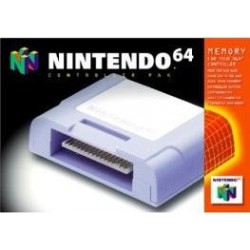 Carte mémoire Officielle Nintendo 64