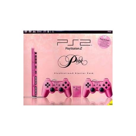SONY PS2 Pink