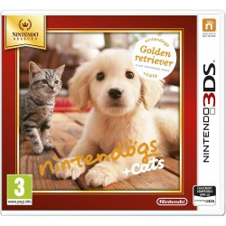 Nintendogs + Cats Golden Retriever Nintendo Selects