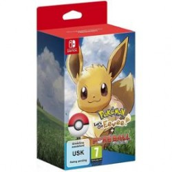 Pokémon Let's go : Evoli + Pokéball Plus