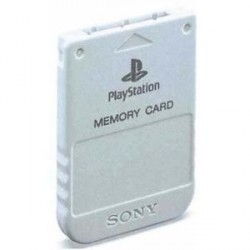 Carte Memoire Officielle Playstation 1