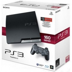 SONY PS3 Slim 160 Go