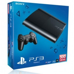 SONY PS3 Ultra Slim 500 Go
