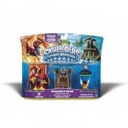 Skylanders Pack 3 figurines Sunburn + Winged Boots + Sparx Dragonfly