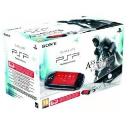 SONY PSP 3000 Noire + Assassin's Creed bloodlines